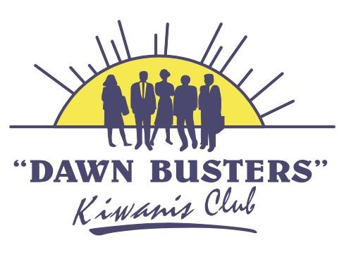 Dawn Busters Kiwanis Logo