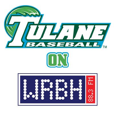 Tulane Baseball on WRBH