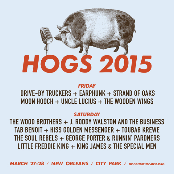 Hogs For The Cause Schedule for 2015