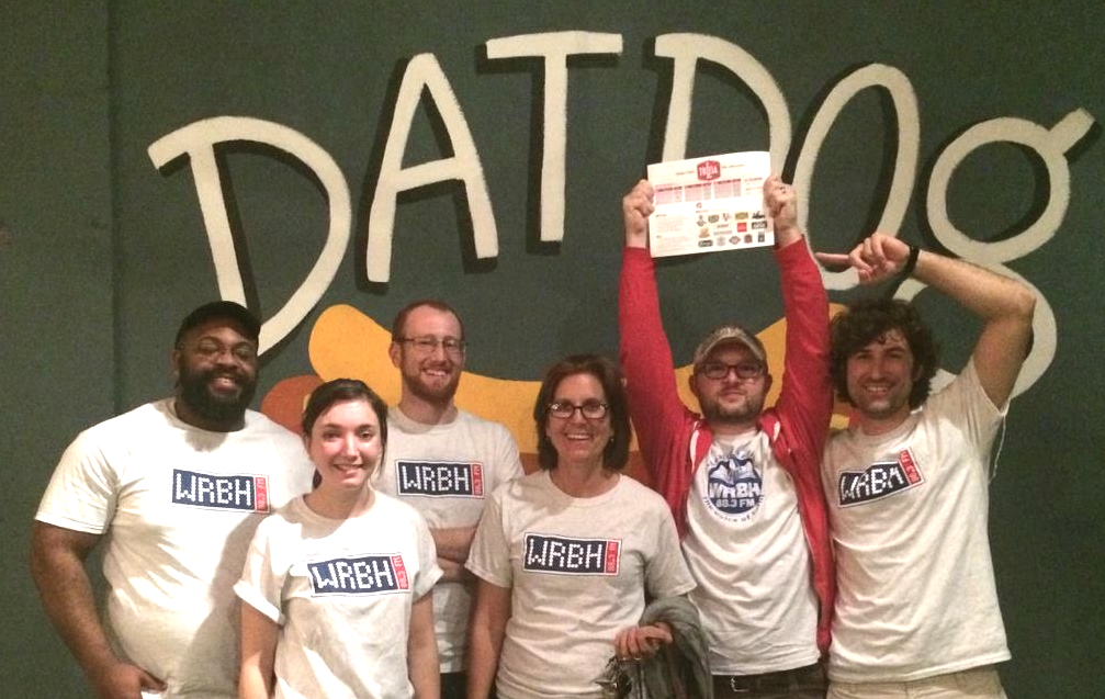 WRBH Trivia Team at Dat Dog - Challenge Entertainment