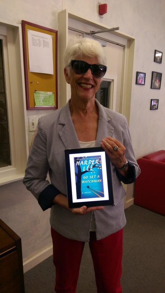 Volunteer Reader Charlotte and Go Set A Watchman by Harper Lee