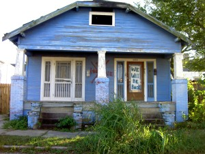 House in the Upper Ninth Ward,