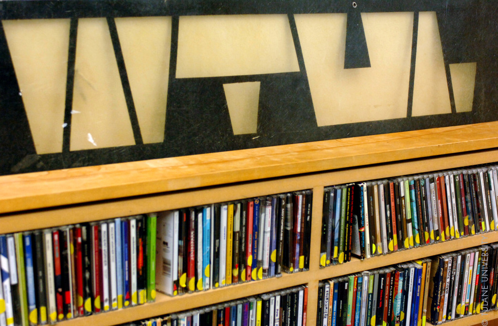 WTUL New Orleans CD Rack
