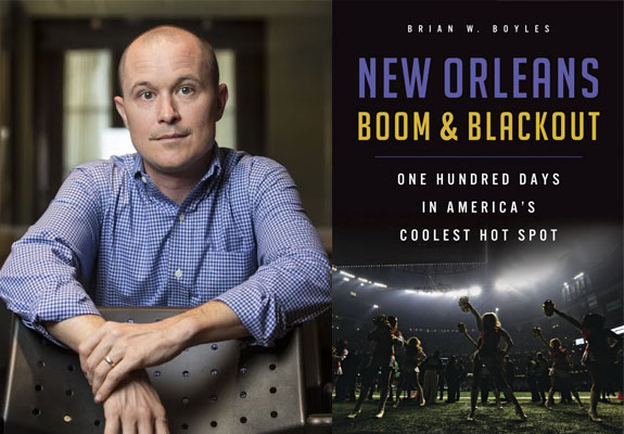 New ORleans Boom And Blackout by Brian Boyles