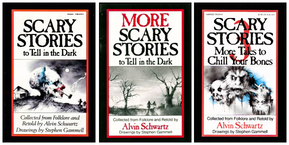 Scary Stories Collection by Alvin Schwartz
