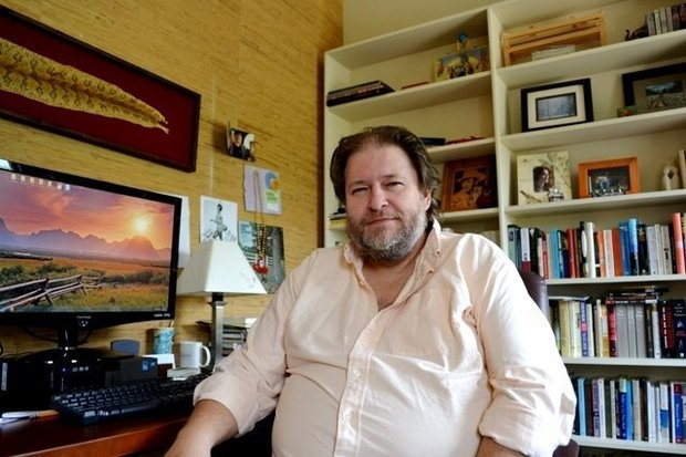 Author Rick Bragg