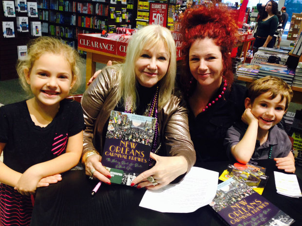 Rosary O'Neill at Book Event for New Orleans Mardi Gras Krewes photo