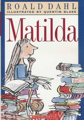 Matilda Book Cover photo