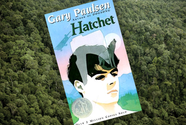 Hatchet by Gary Paulsen banner photo