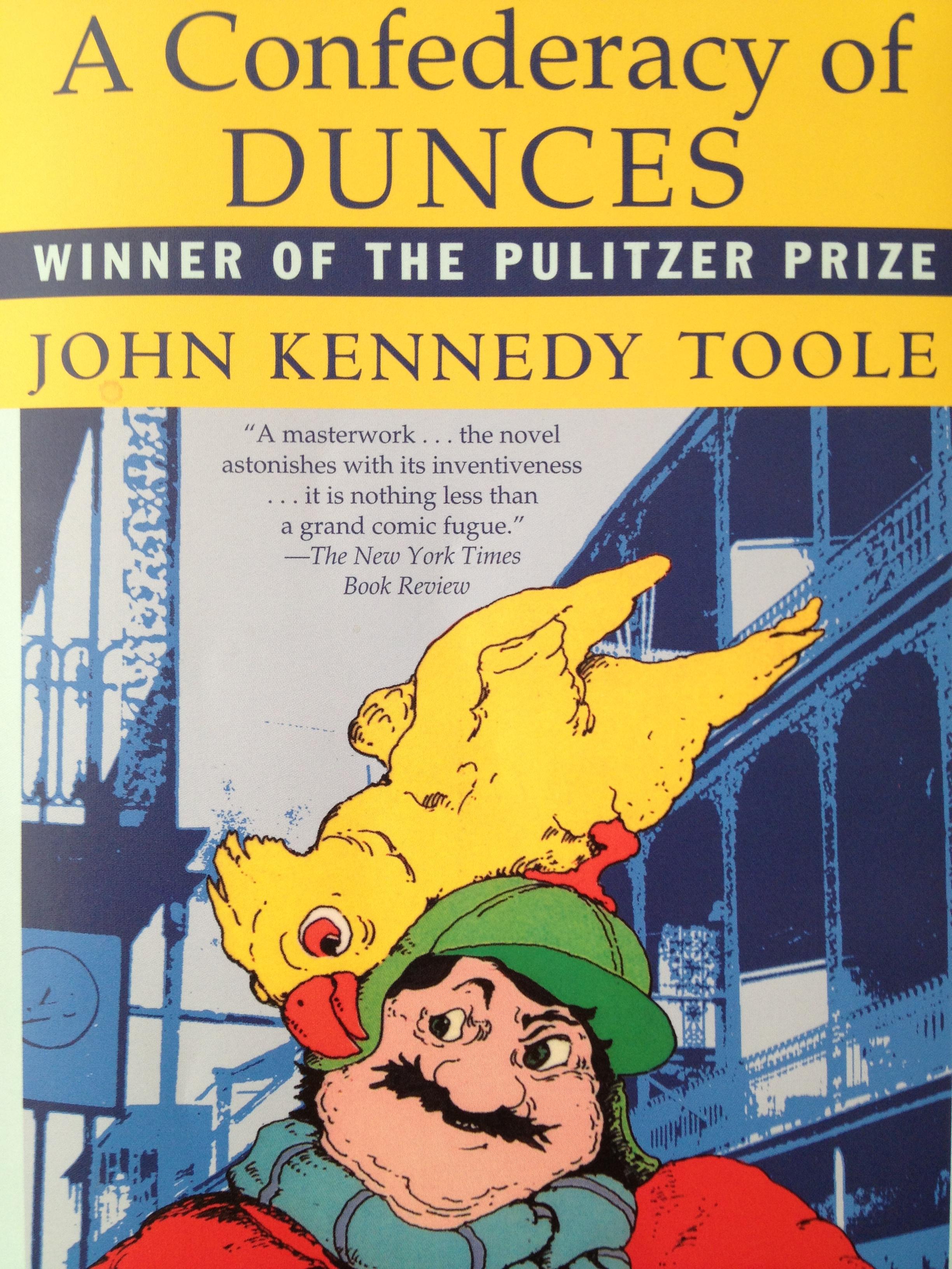 A Confederacy of Dunces book cover photo