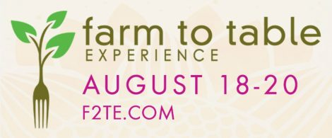 Farm To Table Experience Graphic