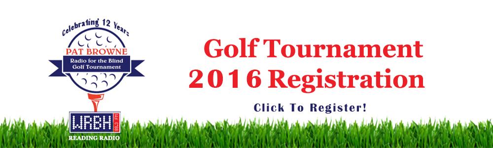 Golf Tournament 2016 (Click to register)