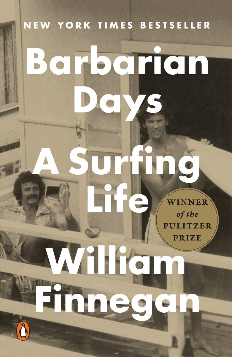 Barbarian Days book cover