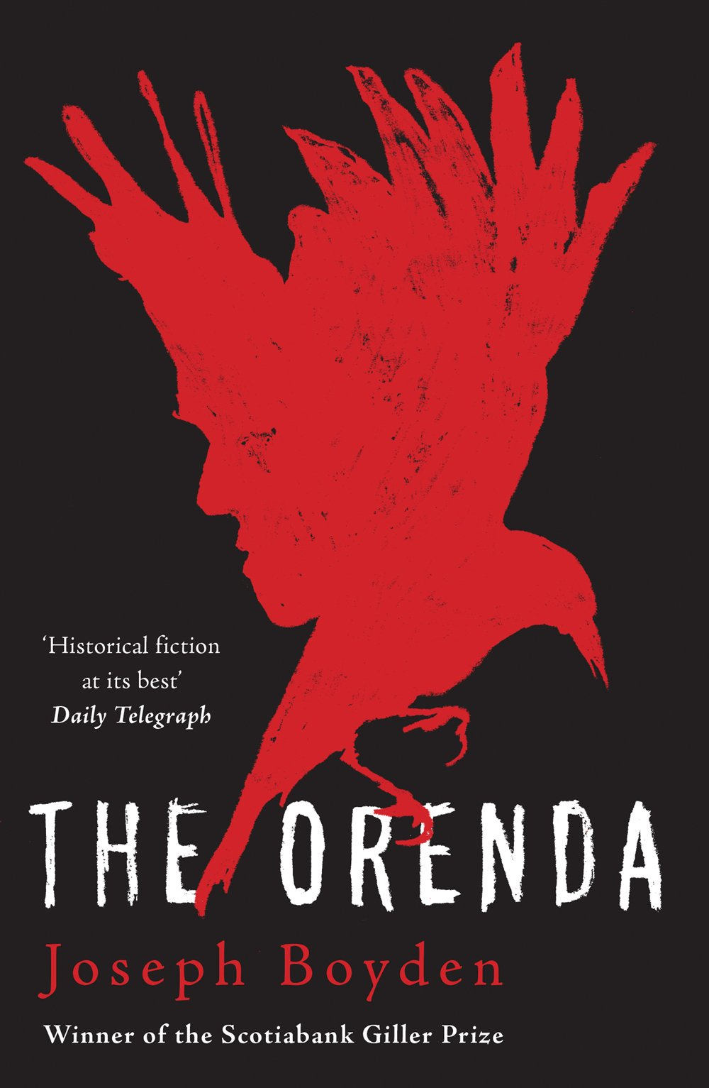The Orenda by Joseph Boyden cover photo