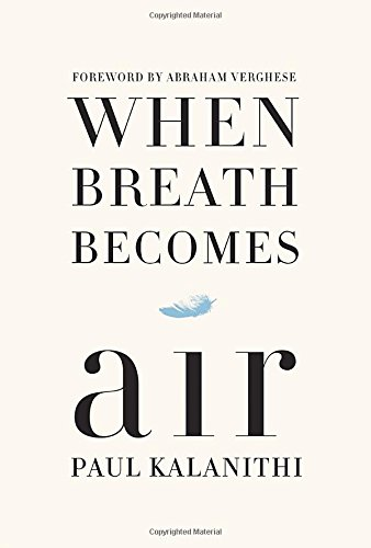 When Breath Becomes Air book cover photo