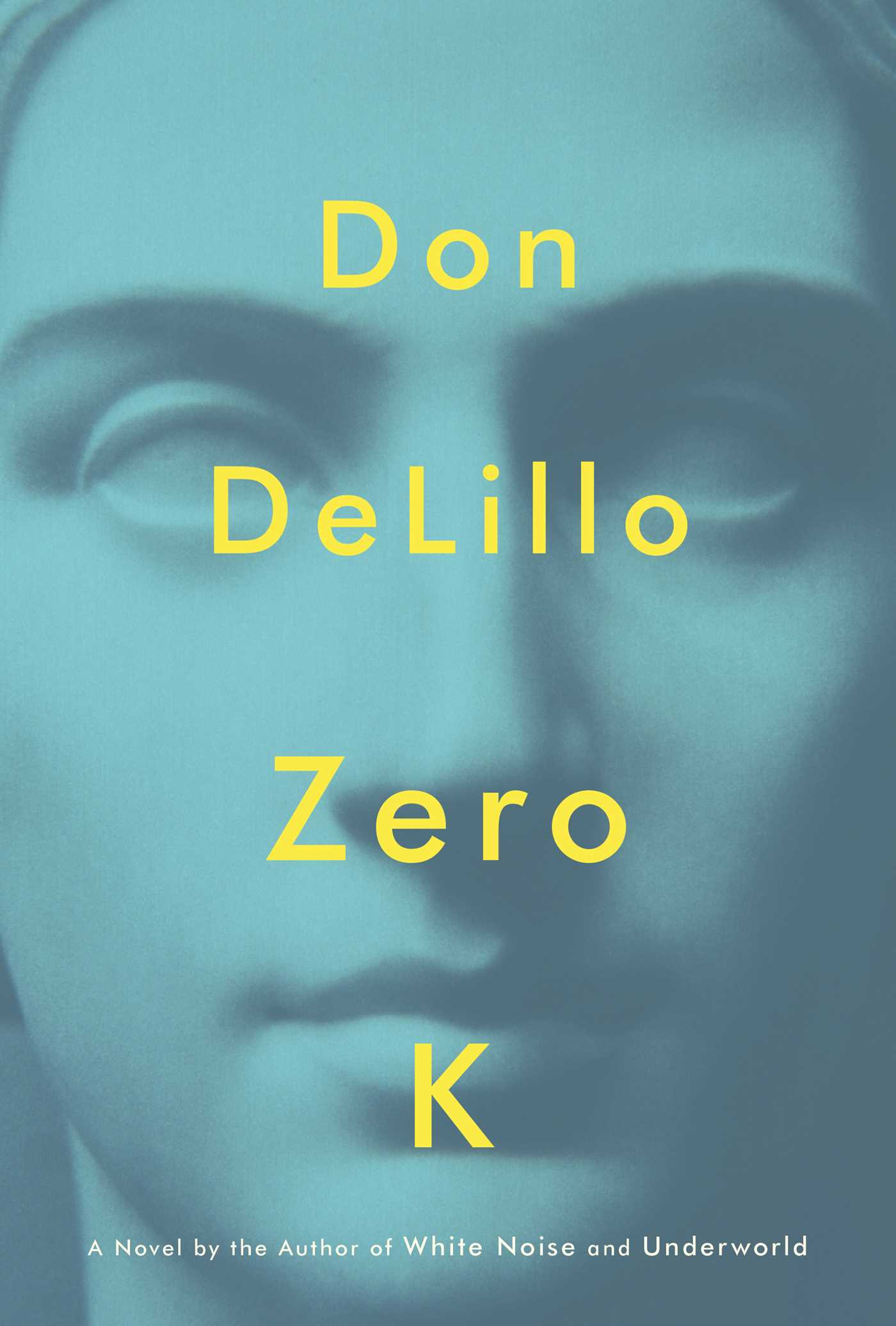 Zero K book cover photo