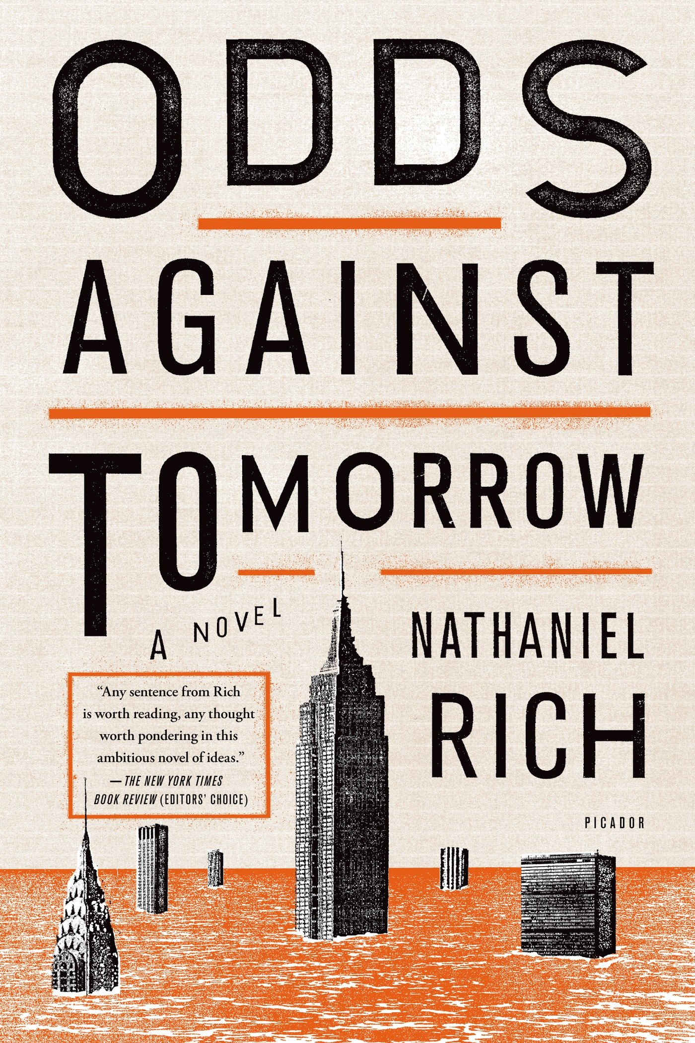 Odds Against Tomorrow book cover