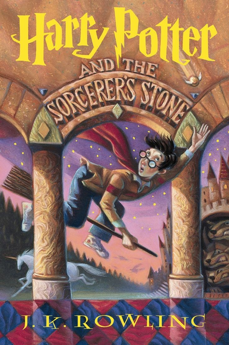 Harry Potter and the Sorcerer's Stone book cover