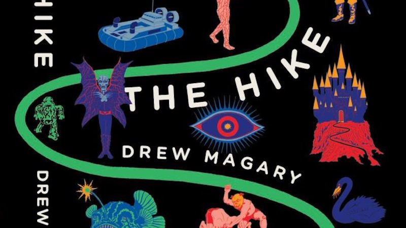 The Hike by Drew Magary cover photo