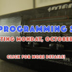 WRBH To Launch Revised Programming Schedule on October 2nd!