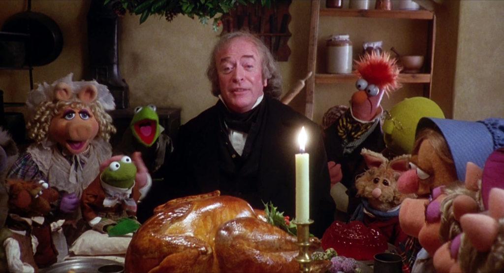 A Christmas Carol dinner scene photo