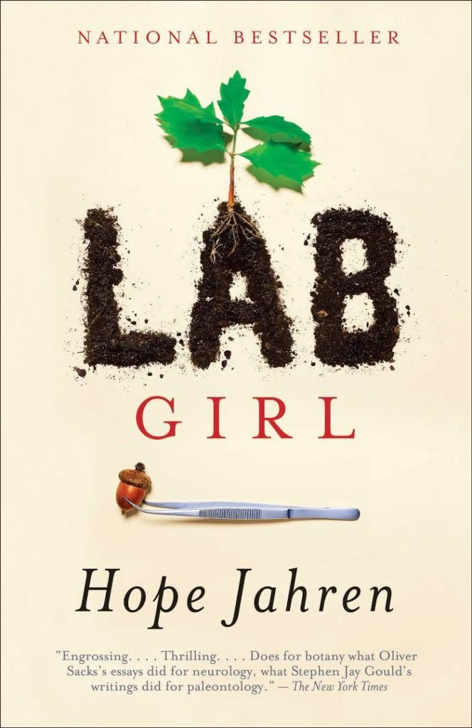 Lab Girl by Hope Jahren book cover