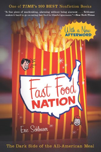 Fast Food Nation book cover photo