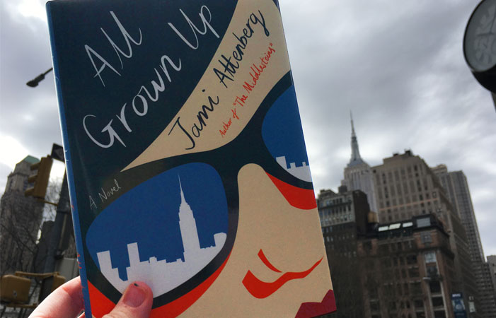 All Grown Up by Jami Attenberg book cover photo