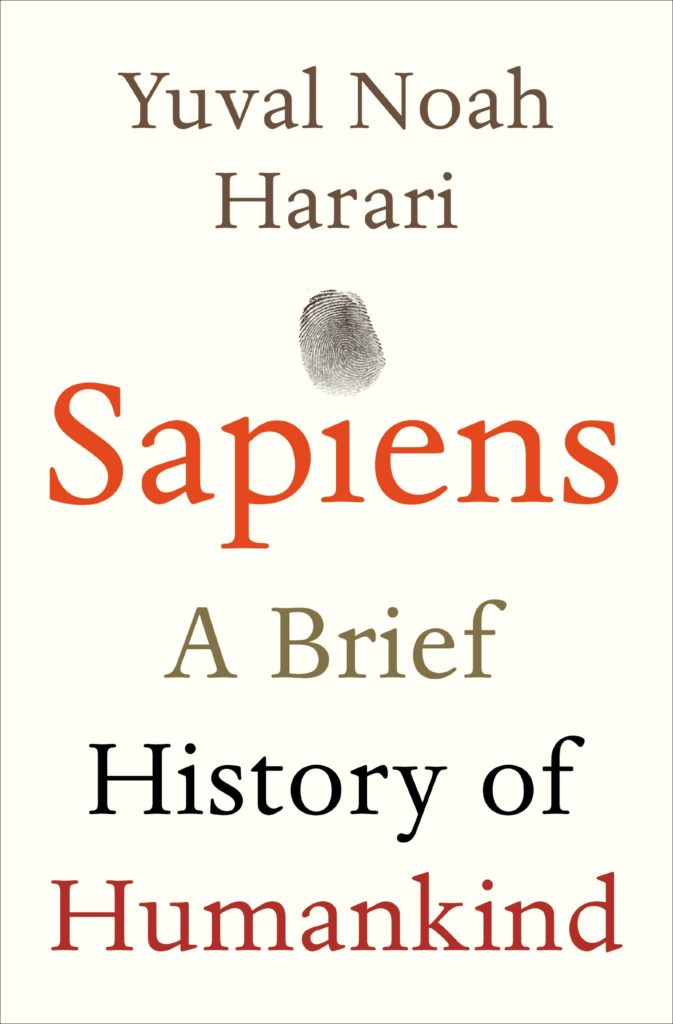 Sapiens book cover photo