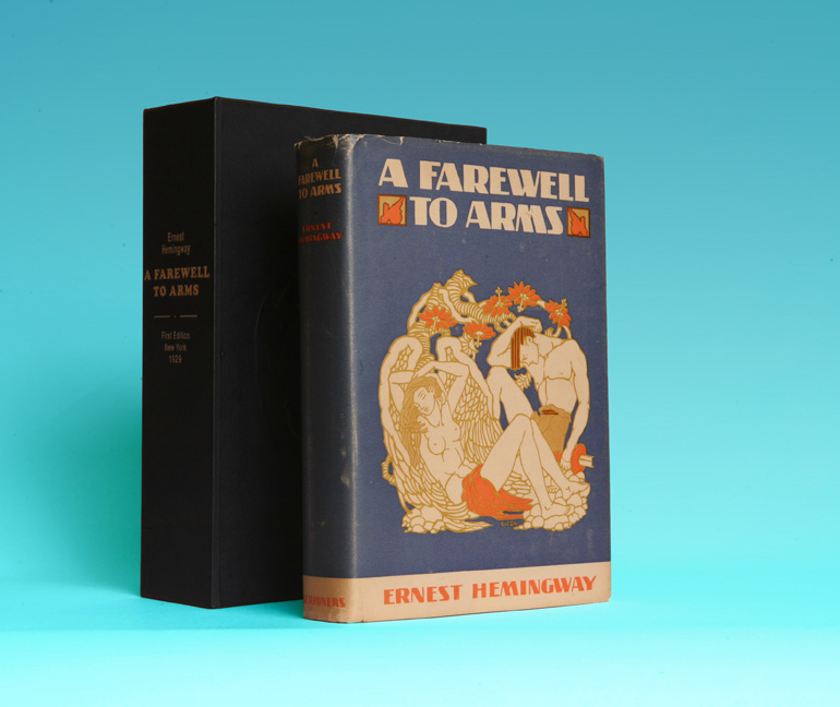 Farewell to Arms book cover