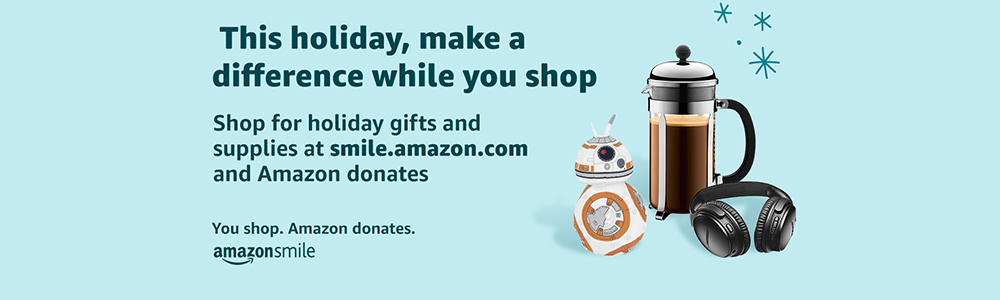Link to WRBH's Amazon Smile account where a little bit of everything you spend comes back to WRBH. Click on the photo to go to the website