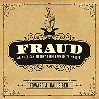 Book cover of Fraud by Edward Balleisen