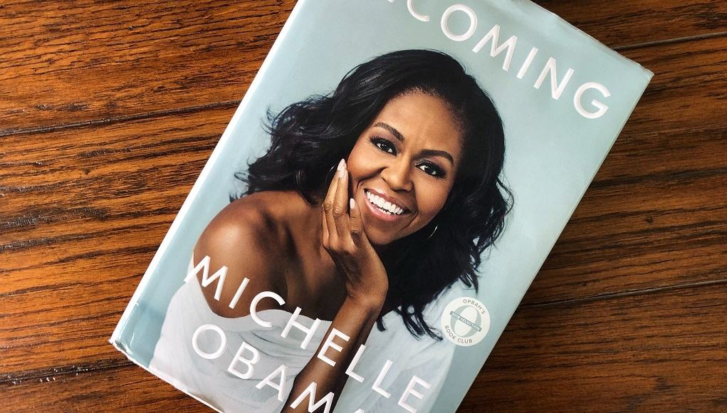Michelle Obama Becoming Book Cover photo