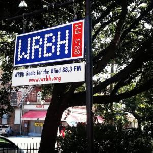 WRBH Sign
