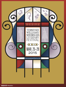 Tennessee Williams Literary Festival 2015 Logo