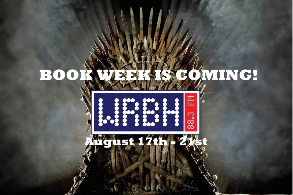 Book Week Is Coming! WRBH Logo and August 17th - 21st