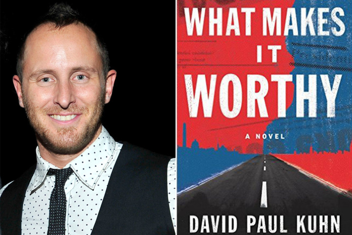 Author David Paul Kuhn and his book What Makes It Worthy