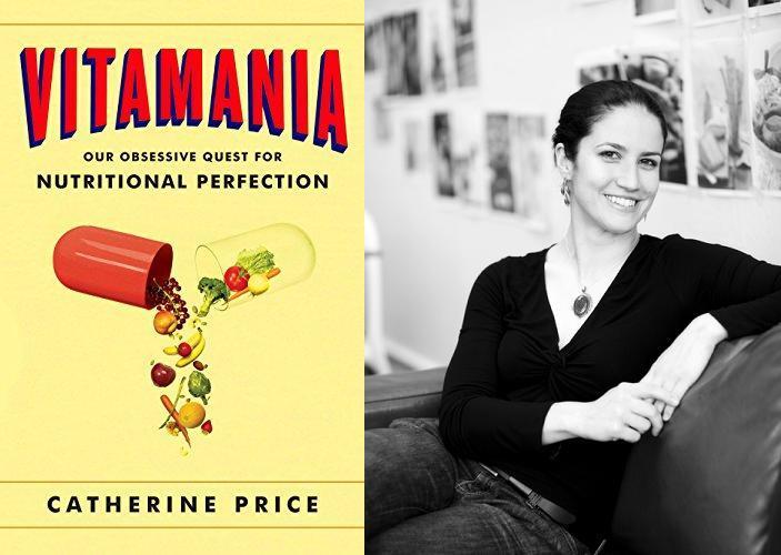 Vitamania book cover and author Catherine Price