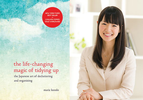 The Life Changing Magic of Tidying Up by Marie Kondo photo