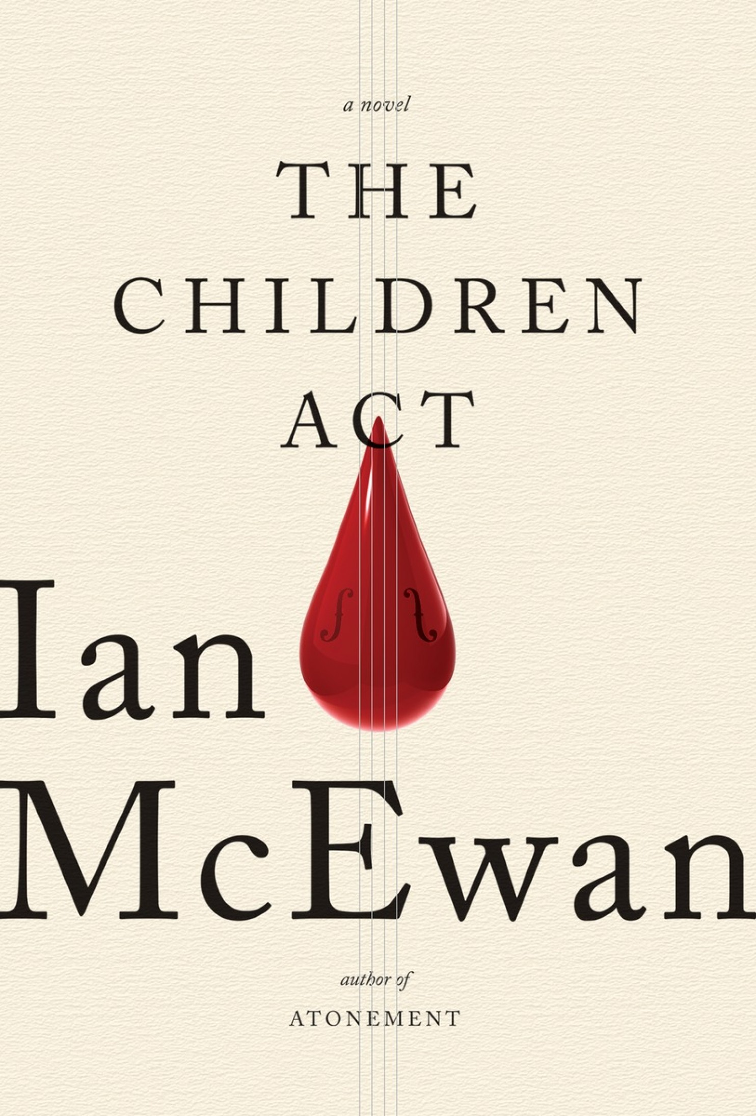 The Children Act book cover photo