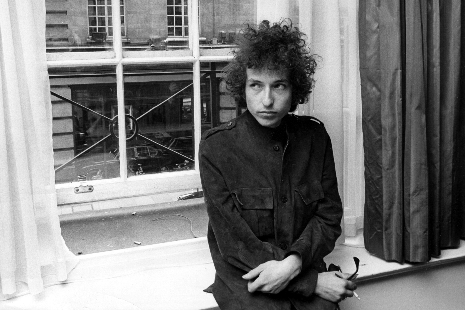 Photo of Bob Dylan in 1966