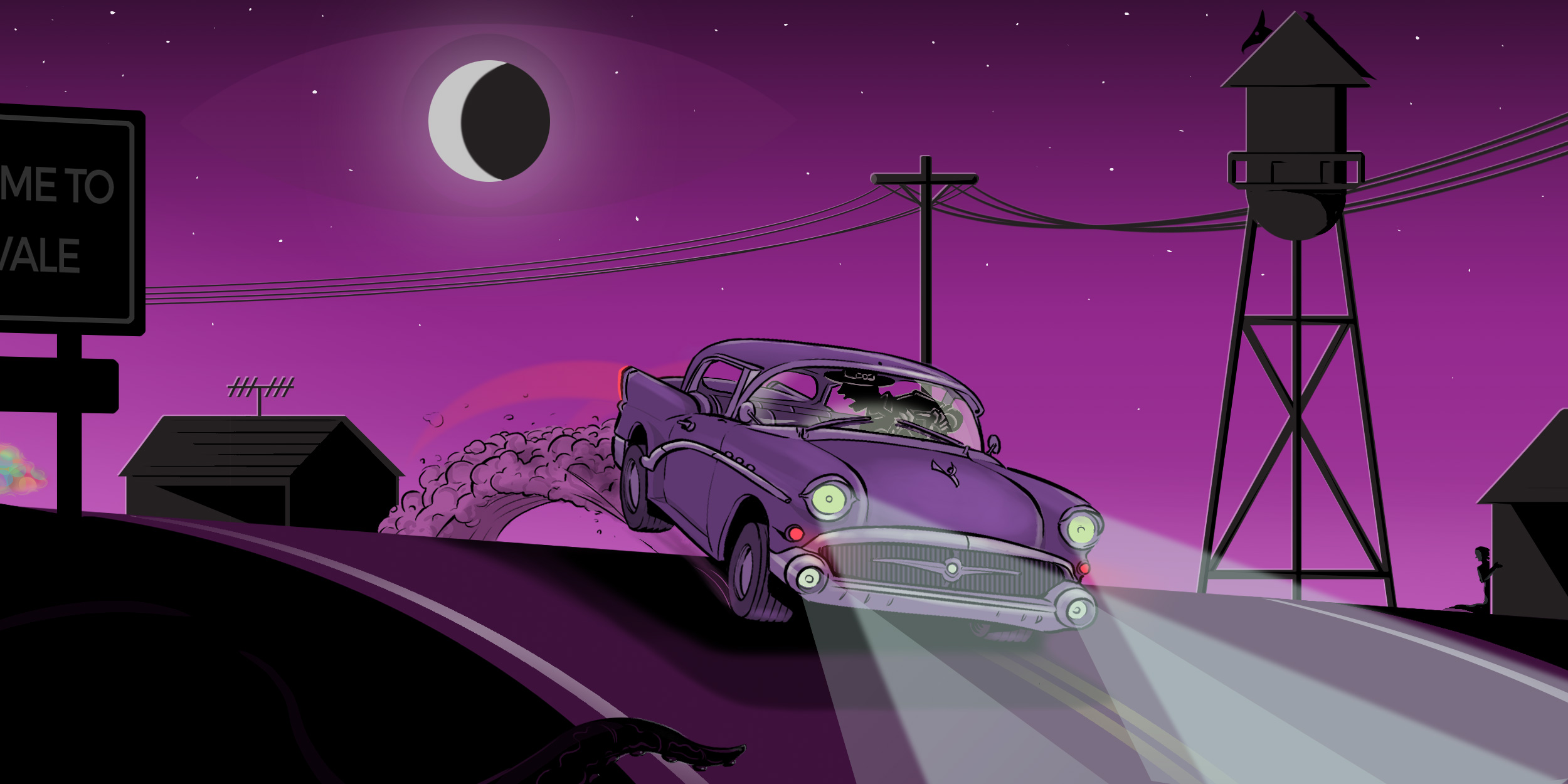 Welcome To Night Vale podcast banner photo