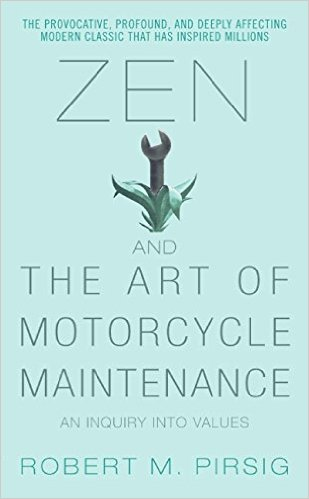 Zen and The Art of Motorcycle Maintenance cover photo