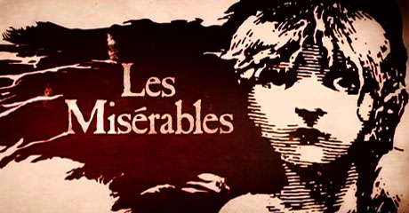 Les Miserables Broadway book cover