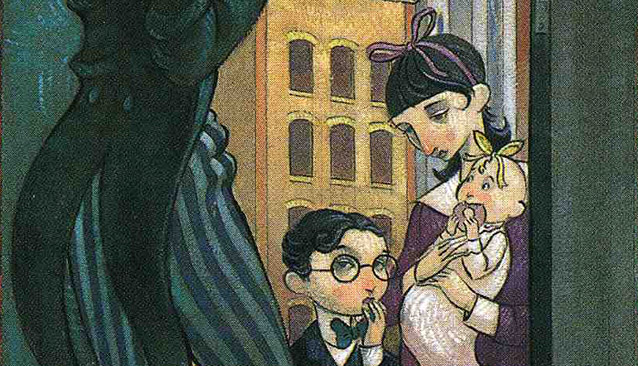 Lemony Snicket A Series of Unfortunate Events book cover photo