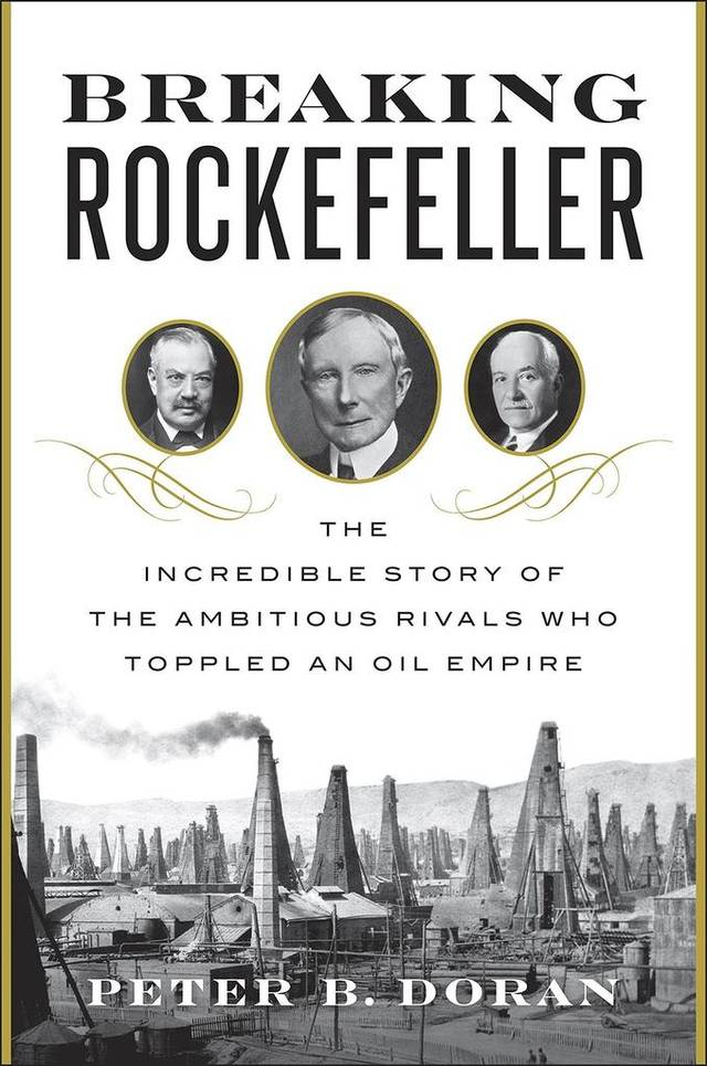 Breaking Rockefeller book cover