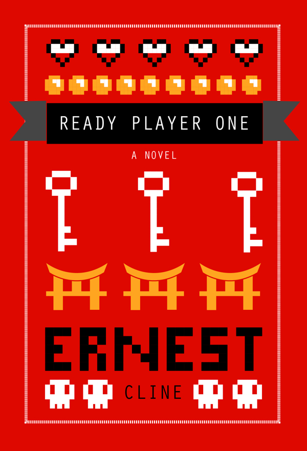 Ready Player One Book Cover photo