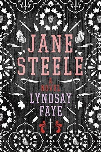 Jane Steele novel cover photo
