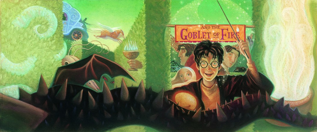 Harry Potter and the Goblet of Fire book cover image