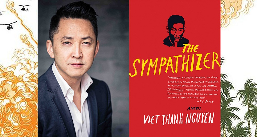 The Sympathizer by Viet Thanh Nyguen book cover photo